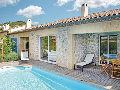 Holiday home Durban Corbieres 77 with Outdoor Swimmingpool : Hebergement proche de Durban-Corbières
