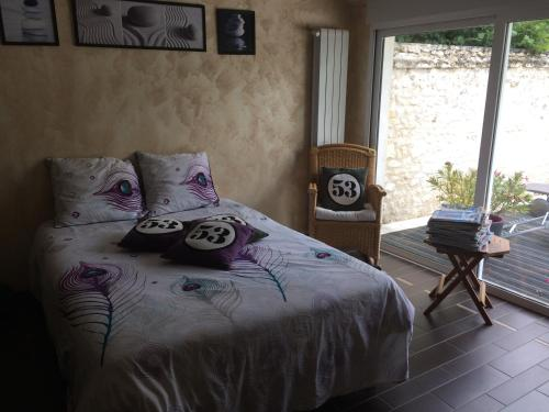 Chez J and J : Chambres d'hotes/B&B proche de Theneuil