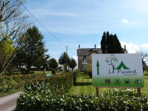 Camping Le Picard : Hebergement proche de Le Molay-Littry
