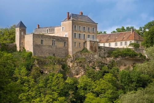 Mailly-le-Chateau Chateau Sleeps 40 Pool Air Con : Hebergement proche de Sainte-Pallaye