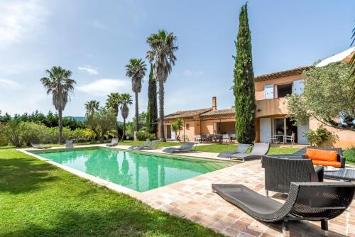 Ramatuelle Villa Sleeps 14 Pool Air Con WiFi : Hebergement proche de Ramatuelle
