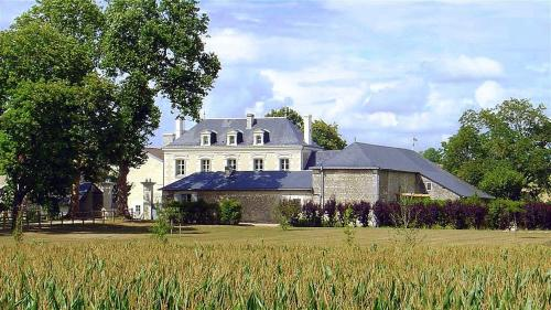 Chizeray Chateau Sleeps 14 Pool WiFi : Hebergement proche de Chaveignes
