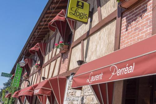Hotel Restaurant Laurent Perreal : Hotel proche de Foissiat