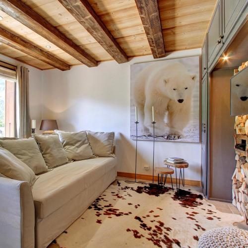 L'Ours Blanc Lodge : Appartement proche de La Baume