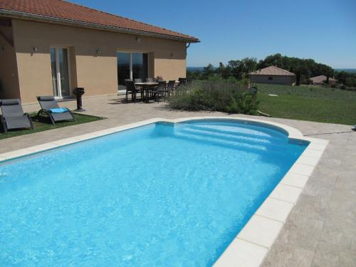 Holiday home Villa Panorama : Hebergement proche de Lalanne