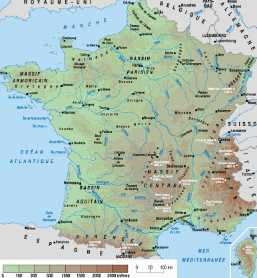 Carte de France Sud - Voyages - Cartes