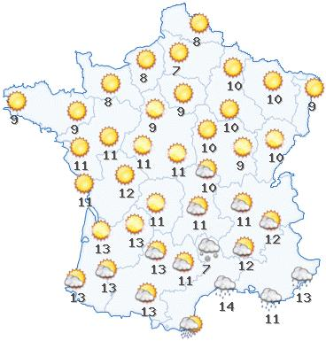 Envoyer des photographies m t o la carte forum france 3 - Meteo a la carte france 3 ...