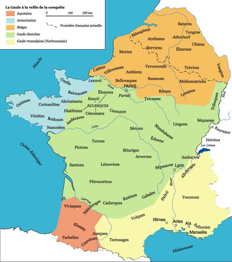 carte de france il y a 500 ans