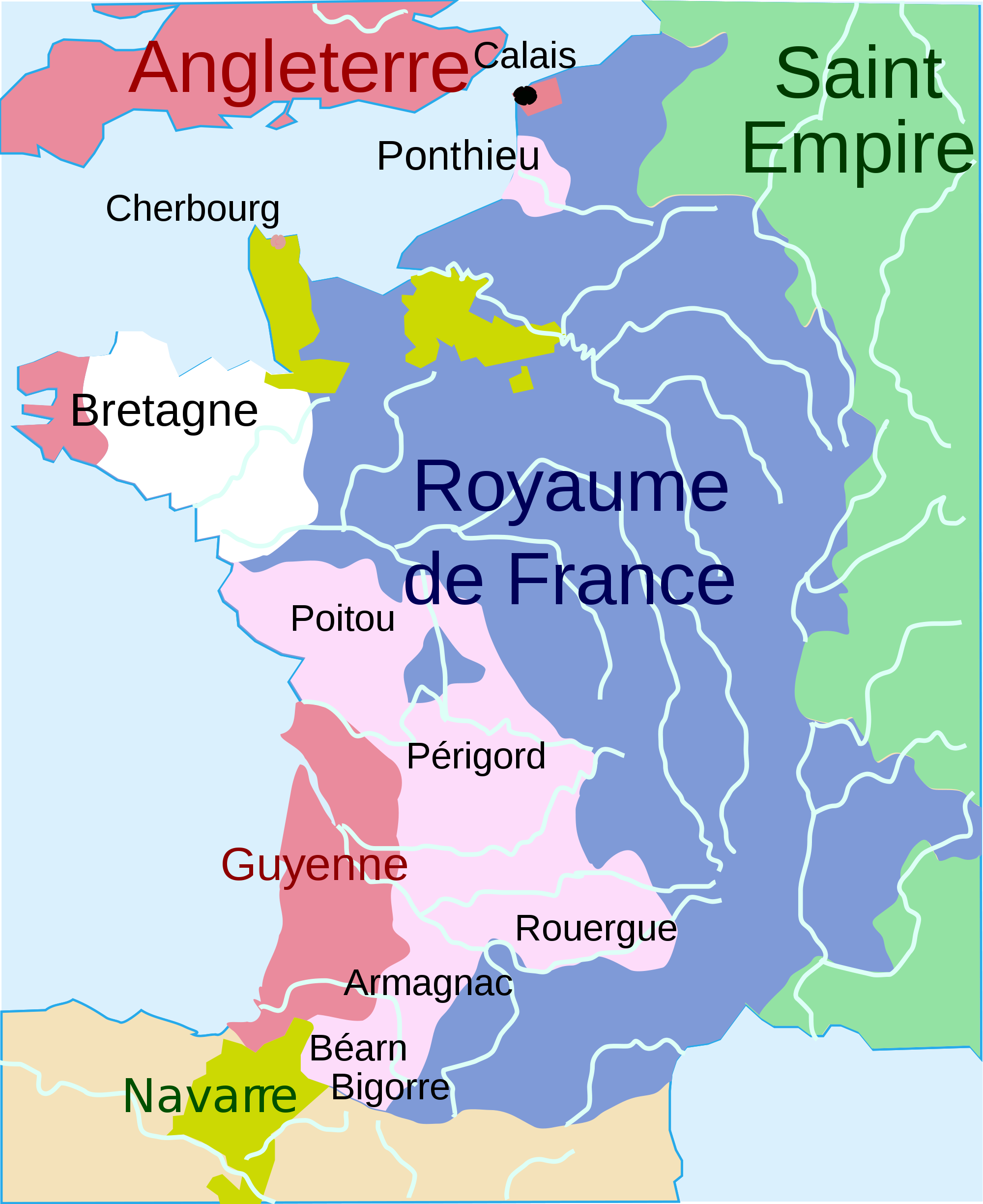 carte de france il y a 2000 ans
