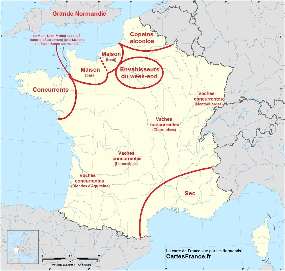 La France vue par les Normands