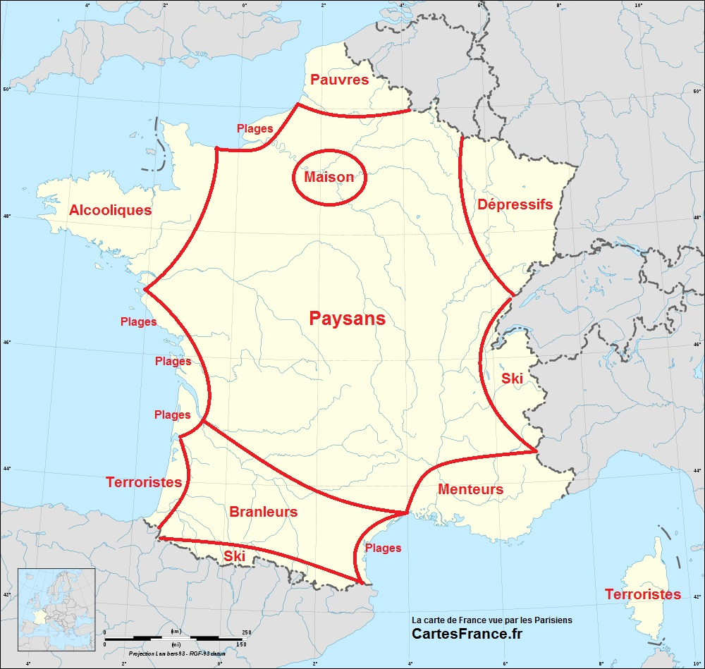 carte de france insolite