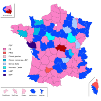Carte elections municipales 2008