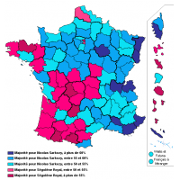 Resultat election presidentielle 2007
