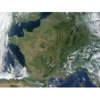 Image satellite de France du 03/07/2001