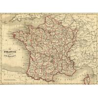 Départements de France en 1843